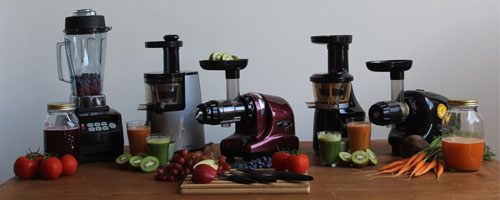The_Vitality_4_Life_cold_press_juicer_range